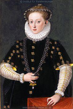 Regina Streun, geb. von Tschernembl    Dieses Bild: 014136  1575 ; 1585 ; Wien ; Österreich ; Wien ; Kunsthistorisches Museum ; IN 9691 ; fol. 613