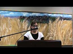 Kim Jairl reads during Helicon West at the Logan Library December 4, 2014 - YouTube.