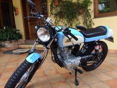 Moto Honda Café Race Motor 125 Cc Cor Azul - R$ 7.500,00