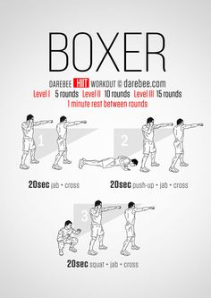Boxer HIIT Workout