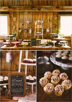 cupcake dessert table ideas