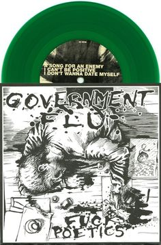 "GOVERNMENT FLU 2009 'F*CK POETICS' PUNK HARDCORE 7"" NM GREEN VINYL RECORD  See all our Vinyl at Rock On Collectibles: http://stores.ebay.com/Rock-On-Collectibles/Vinyl-LPs-Singles-/_i.html?_fsub=7421951&_sid=70220124&_trksid=p4634.c0.m322"