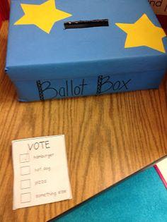Kindergarten Smiles: Voting!