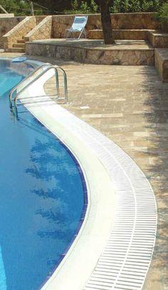 Pavés pour piscines - Terrastegels voor zwembaden