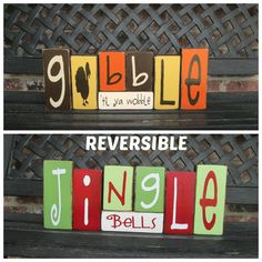 Hey, I found this really awesome Etsy listing at http://www.etsy.com/listing/161386751/reversible-holiday-blocks-gobble-til-ya