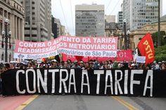 4o. Grande Ato #ContraTarifa. SP (23/01/20150 (@cmi_saopaulo)