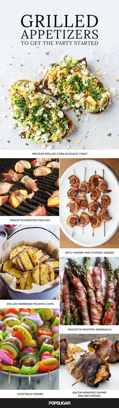 When it comes to appetizers, things can get a little boring. With these flavorful and nontraditional recipes, grilling appetizers has never tasted so good.