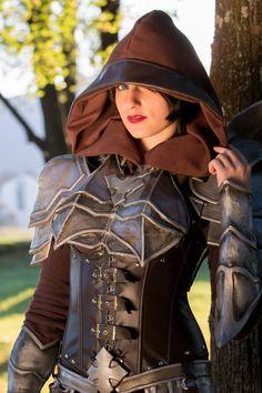Demon Hunter cosplay Diablo III by Chiara-LittleOwlie