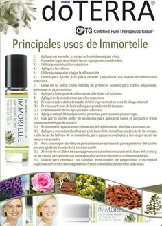 Dōterra immortelle - All About Health Essential Oil Recipies, Essential Oil Uses, Doterra Essential Oils, Essential Oil Diffuser, My Doterra, Doterra Blends, Esential Oils, Aromatherapy Recipes, Tips Belleza