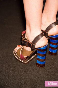 Striped heels! #JessicaHuffman #YLC #Trends2014 Follow me on IG: @JessicaHufffman