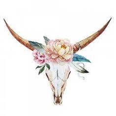 Molly The Steer Canvas Wall Art