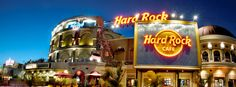Hard Rock Cafe in Orlando - one of my favorite touristy restaurants to go to