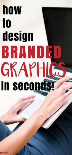 Social Media Design: Learn how to use make a graphics template in Canva and make branded graphics in seconds! Make More Money, Make Money Blogging, Blogging Ideas, Social Media Design, Social Media Tips, Make A Graph, Pinterest Design, Blog Names, Blog Topics