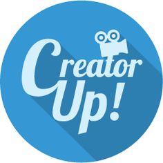 This tutorial site has a nice interesting look | CreatorUp Video Tutorial Courses