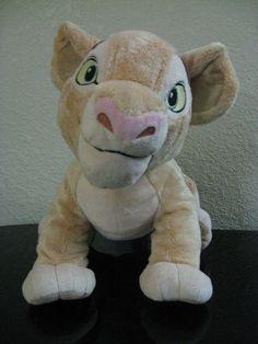 Nala Plush The Lion King Disney Store Original Young Cub 14'' Toy Stuffed Animal #Disney #nala #lionking
