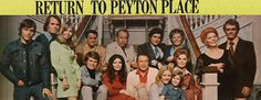 Peyton Place Movie | Peyton Place | PARISCINE soap came on back in the late 70's