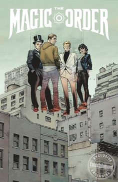The Magic Order Is Mark Millar's First Netflix Comic, With Olivier Coipel