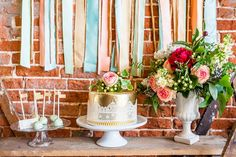 Rustic glam dessert table inspiration