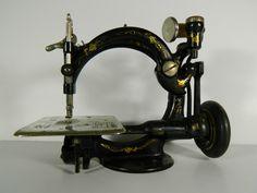 RARE Original 1873 Wilcox Gibbs Chain Stitch Sewing Machine | eBay