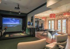 50 best golf simulator room design ideas images on for Arredamento da taverna