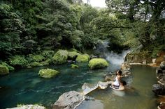 川のせせらぎが心地良い♪九州の水音を感じる涼露天5選