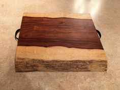 Live Edge Granadillo Wood Charcuterie Cheese Board Serving