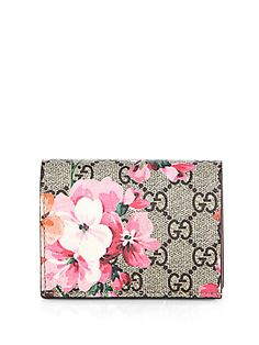 ff3b9f3b87b GUCCI Gg Blooms French Flap Wallet.  gucci  bags  leather  wallet ...