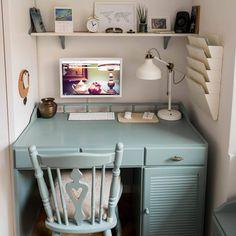 Paint Furniture, Office Desk, Corner Desk, Minden, Wood, House, Home Decor, Annie Sloan, Furnitures