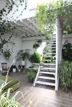 Stunning botantical space in Tram Depot in Clapton, East London 2000 sq ft of double height, white, ...