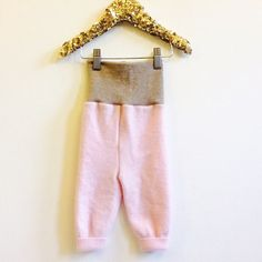 CRAWL 3-6m Babies Baby Cashmere Leggings Longies Cloth Diaper Real Nappies Soaker Pants Toddler Trousers Sweat Pants in Upcycled Unisex