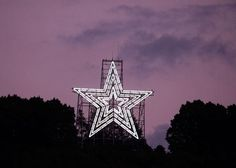 Mill Mountain Star. possibly 2nd picture of this on here. My hometown. Roanoke,Va. Our Star!!!