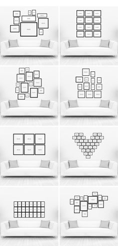 Picture arranging ideas