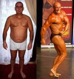 1000+ images about Bodybuilders Before and After on ...