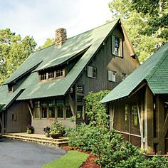 Best Houses With Green Shingle Roofs Certainteed Brand Shingles Ideas For The House Pinterest 400 x 300