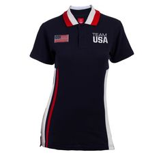 2012 Olympics Team USA Color Block Women's Polo