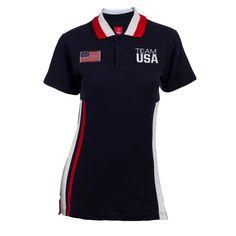 2012 Olympics Team USA Color Block Women's Polo