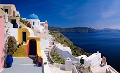 Santorini. (From: 40 Islands You'd Love To Be Stranded On)