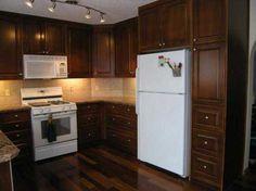 kitchen cabinets cherry stain