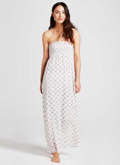 MINT VELVET SUMMER HOLIDAYS SS16 [Luisa Print Bandeau Maxi Dress]