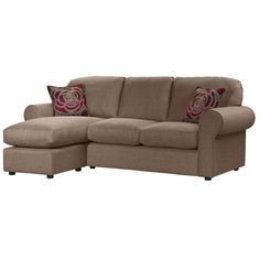 Louise 4 Seater Chaise Nutmeg £650
