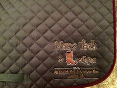 Mane Tack stitched