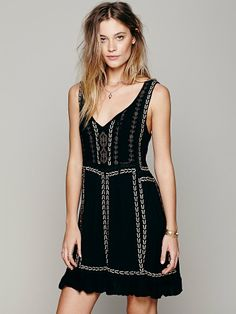 Free People Daybreak Mini Dress