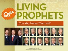 Can you Name the 15 LDS Prophets and Apostles?