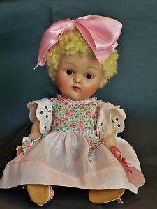 Early 50's Crib Crowd Ginny Tagged Outfit Poodle Blond Brown Eyes Excellent | eBay