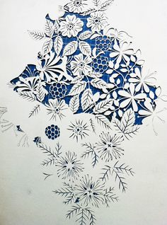 cut paper art by geertje aalders, dutch illustrator Kirigami, Paper Cutting, Cut Paper, Origami Paper Art, Paper Crafts, Wal Art, Paper Magic, Paper Artwork, Paper Design