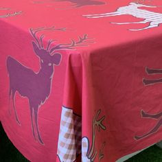 Rectangle Christmas cloth Red Color Schemes, Reindeer, Christmas, Clothes, Xmas, Outfits, Clothing, Clothing Apparel, Weihnachten