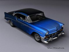 1956 Chevrolet Bel Air Sport Coupe Custom