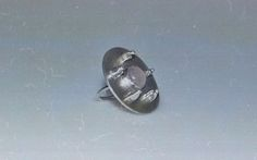 Adelina Petcan Thinkers Sterling Silver Ring PInk Quartz gemstone