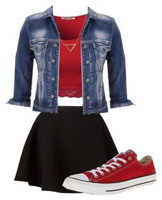 """""""Have fun in fall!"""" by livvie47 on Polyvore featuring Neil Barrett, maurices, Banana Republic and Converse"""