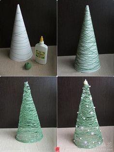 Para hacer: Árbol de Navidad  -  DIY Tree
